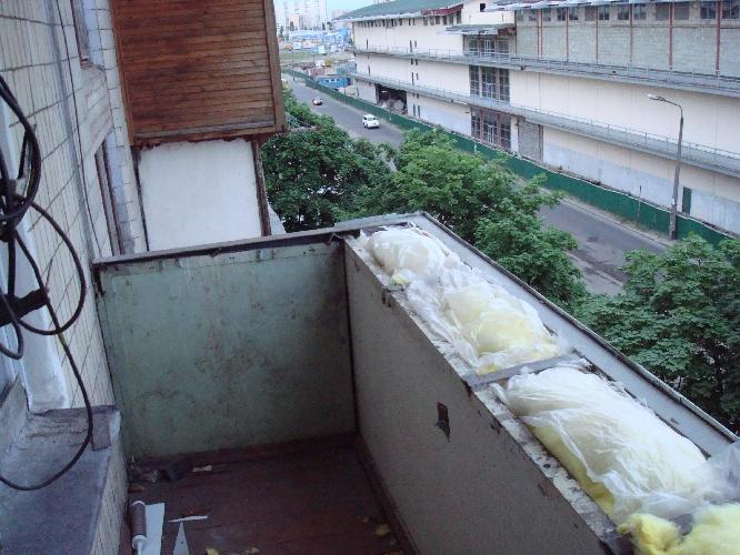 Технология утепления балкона с металлическим парапетом..